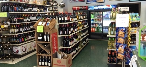 Corner shop offers alcohol delivery