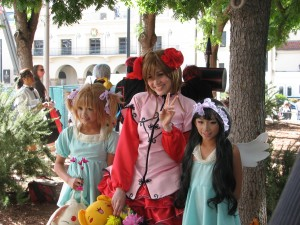 Card Captor Sakura cosplay.