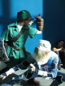 Link and Shiek