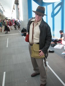 Awesome Indy cosplay