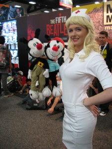 Heeeeeeeeeeeeello Nurse from Animaniacs