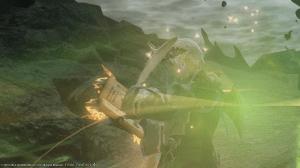 A dark summoner summoning