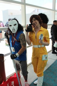 April O'Neil and Casey Jones