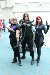 Black Widow, Winter Soldier and Nighthawk