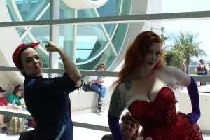 Rosie the Riveteer and Jessica Rabbit