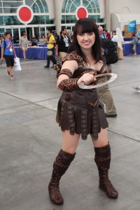 One of the best Xena cosplays I've ever seen. Cosplayer: Bernadette Bentley www.BernadetteBentleyActor.com