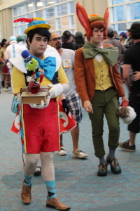Love these two Pinochio cosplays