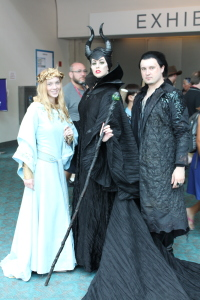 Beautiful Maleficent cosplay