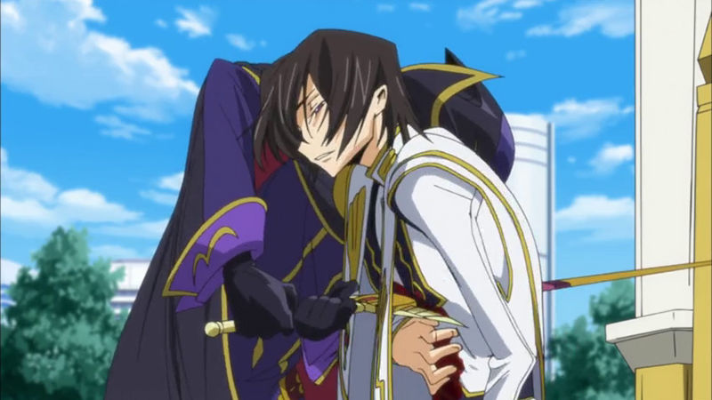 Image from Code Geass: Lelouch of the Revolution, taken from Kotaku