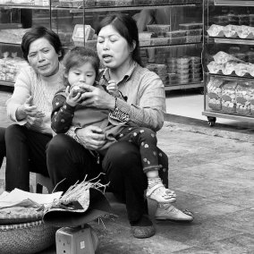 On the Streets of Hanoi 1