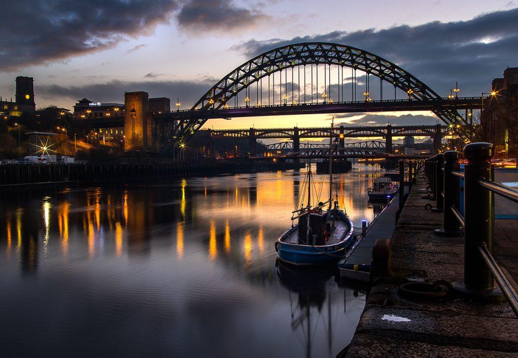 Tyne Boat by David Ord