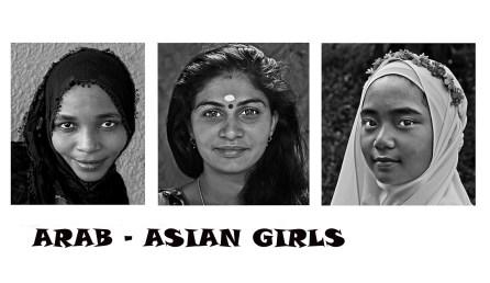 HC - Arab Asian girls - David Stout