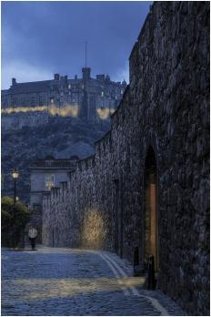 HC - The Flodden wall at dusk - Fred Wright