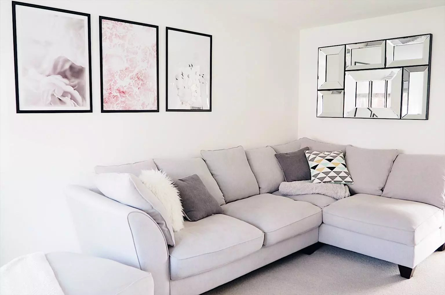 Grey Corner Sofa Living Room Ideas Grey Corner Sofas