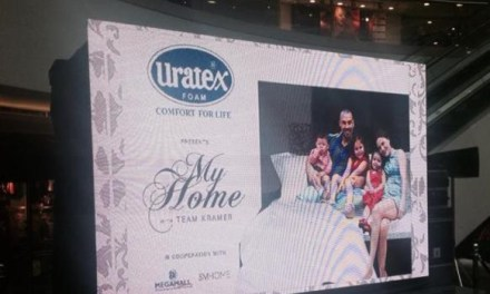 My Home Event features Uratex new products