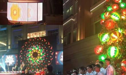 Resorts World Manila Christmas tree lighting