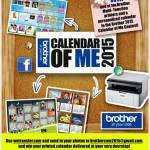 Grab your own printer and calendar from Brother 2015 Contest