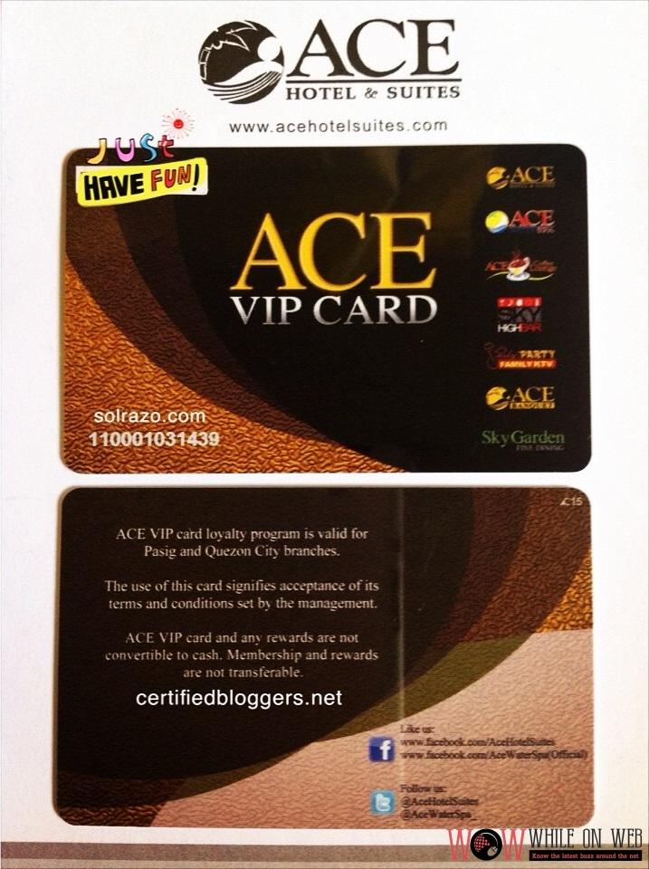 Ace VIP Card