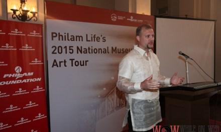 Philam Life features Manansala murals at the Nat'l Museum