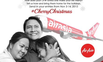 #CherryChristmas promo for OFWs