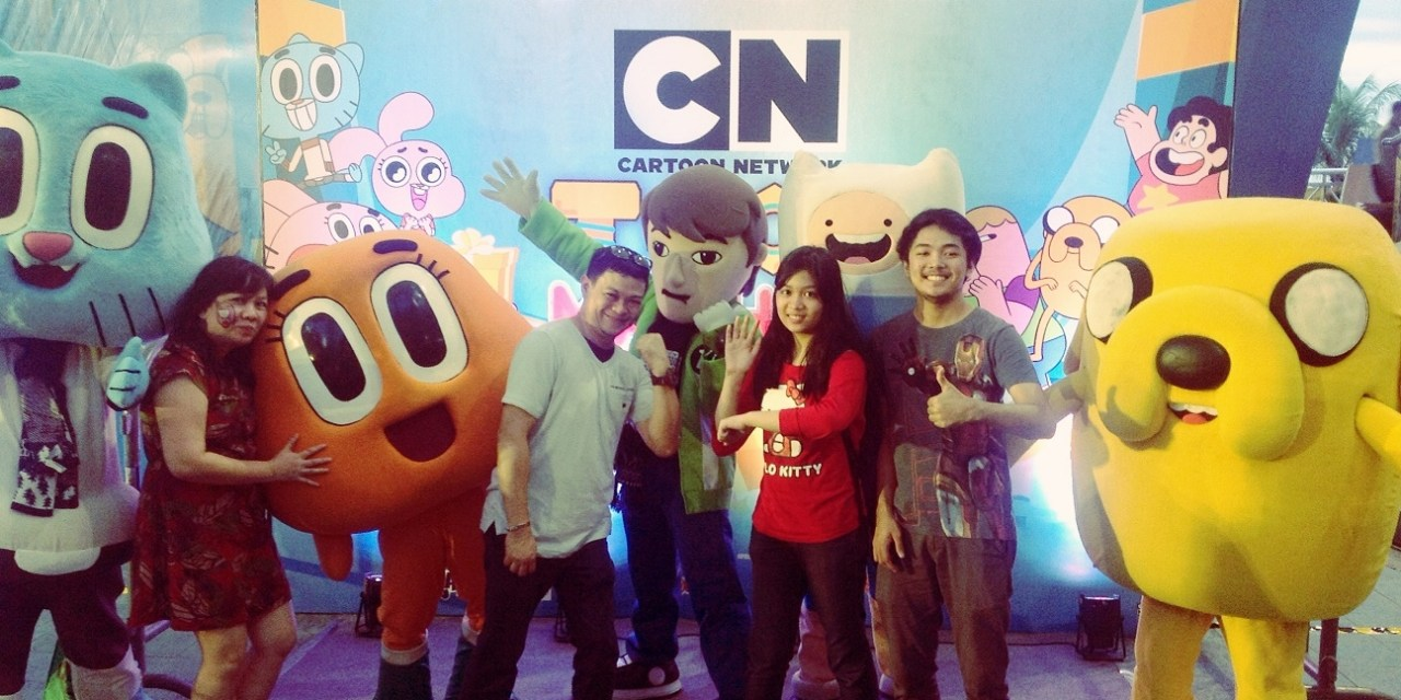 Cartoon Network's Toon Machine At SM Mall of Asia