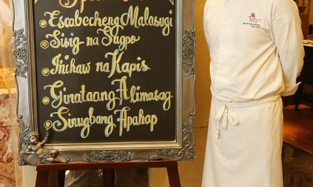 A Buffet of Philippine Culinary Heritage at Marriott Manila