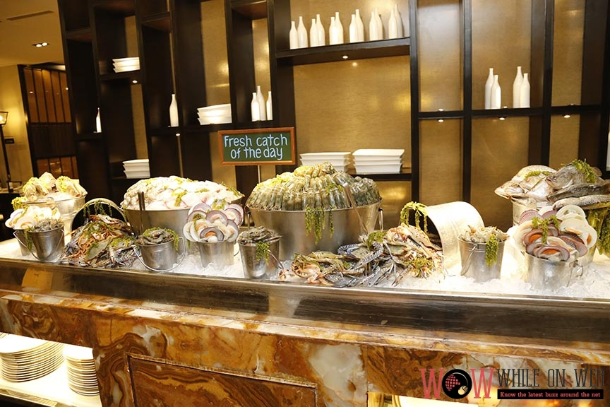 Sustainable seafood catch - A Buffet of Philippine Culinary Heritage at Marriott Manila