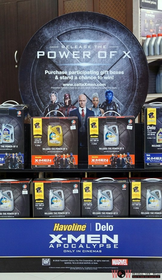 "Caltex and Handyman promo ""Release the Power of X"" -- X-Men Promo Packs"