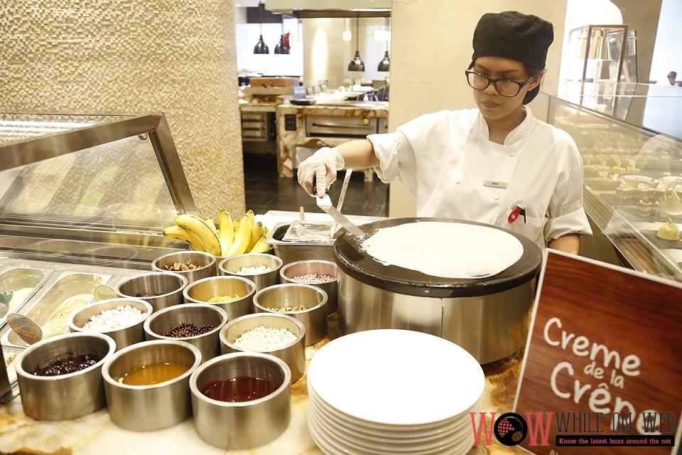 Marriott Cafe creme de la crepe - Dad's Day at Marriott Manila