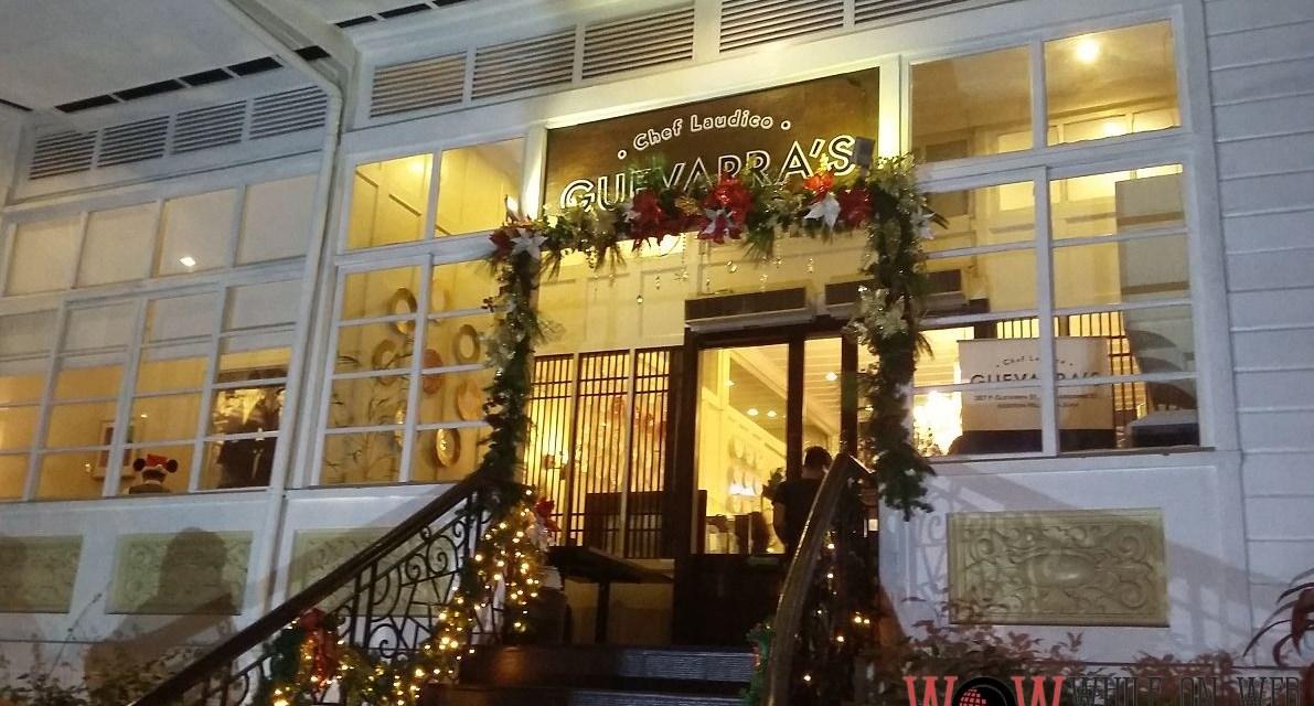Guevarra's lights up the Yuletide season