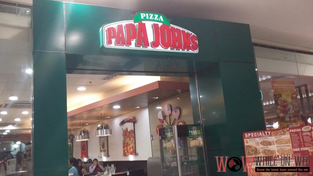 Celebrating Pizza and Pasta the Papa John's way