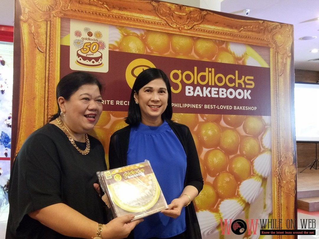 The Goldilocks Bakebook for its' 50th Golden Years