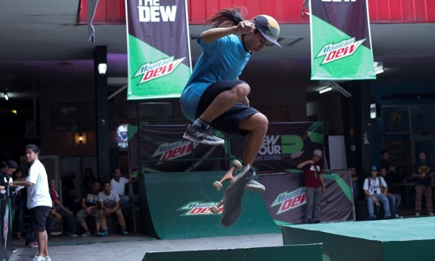 The Dew Tour Rides in Manila for our local skateboaders