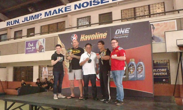Caltex Havoline and ONE Championship aims to empower St. John Bosco Parish students