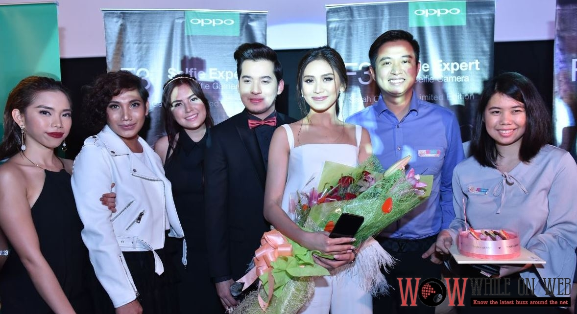 "Sarah Geronimo's ""Finally Found Someone"" movie premiere supported by OPPO"
