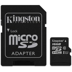 32GB, Class 10, Kingston, microSDHC Card
