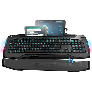 ROCCAT, SKELTR, Grey, Smart Communication, Gaming Keyboard