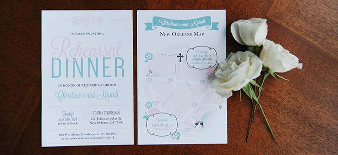 Christine Manoli Greek Orthodox Wedding Invitation