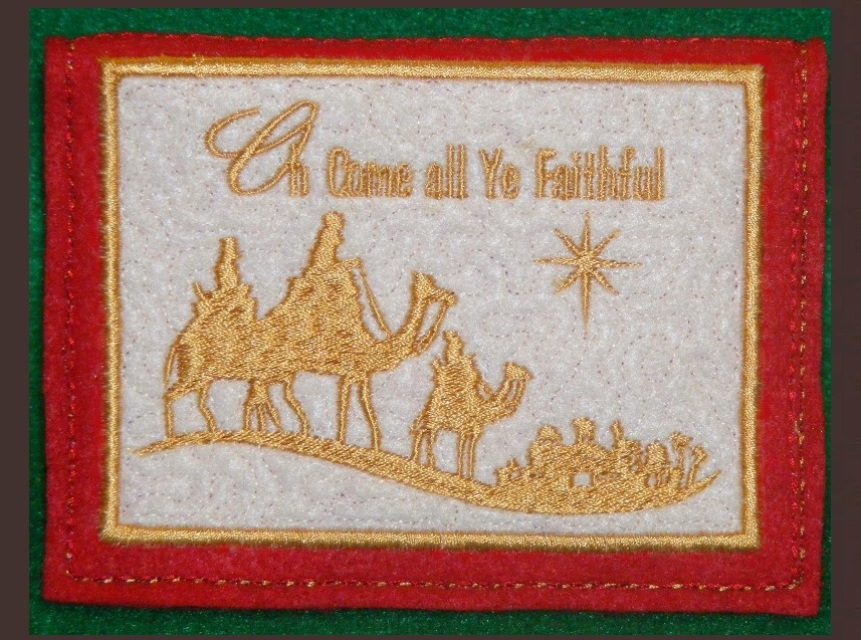 Greeting Cards  In the Hoop Machine Embroidery Patterns