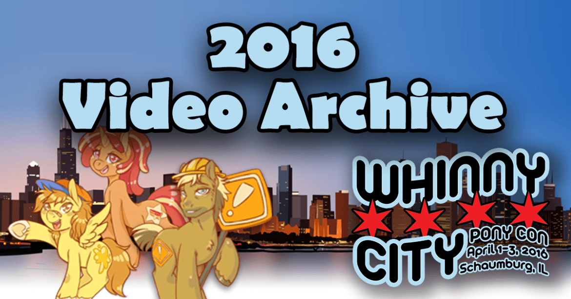 2016 Video Archive