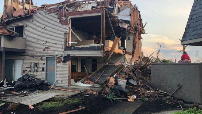Homes After Tornado