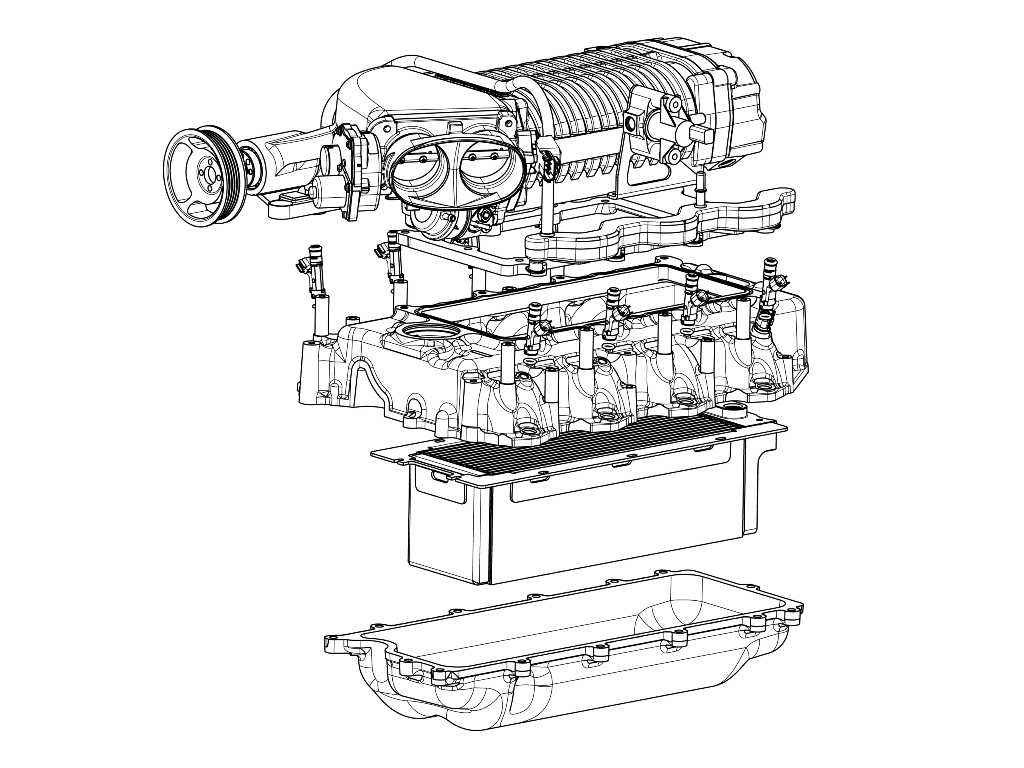 AUTOMOTIVE :: SUPERCHARGER SYSTEMS :: 2010-2012 FORD 6.2L