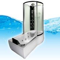 Whirlpool Badewanne AcquaVapore Duschtempel 3 in 1 Vergleich