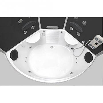 Whirlpool Badewanne 4 in 1 Duschtempel Home Deluxe Vergleich