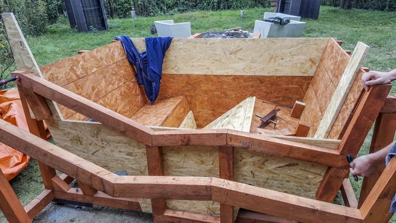 pool heizen whirlpool selber bauen. Black Bedroom Furniture Sets. Home Design Ideas
