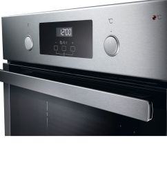whirlpool absolute akp 7460 ix built in oven in stainless steel  [ 1000 x 1000 Pixel ]