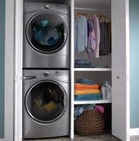 Stackable Front Load Washer and Dryer