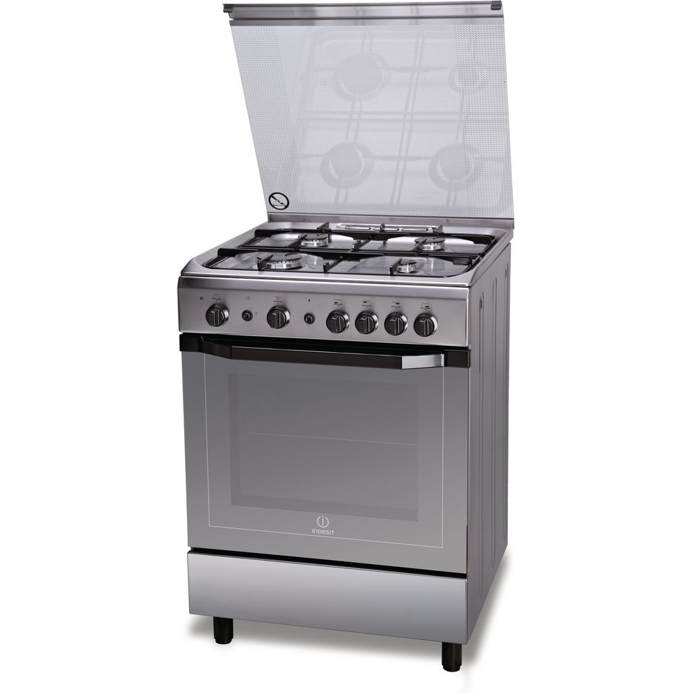 Indesit gas freestanding cooker 60cm  I6GG1F X I