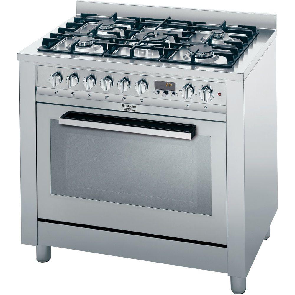 90 cm Cucina elettrica a libera installazione Hotpoint
