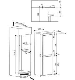 hotpoint built in fridge freezer [ 1000 x 1000 Pixel ]
